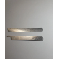cuchilla superior e inferior para maquina overlock